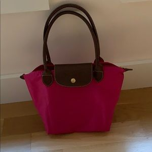 Longchamp type pink made in France